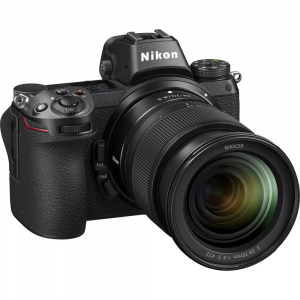 Nikon Z6 kit Nikkor Z 24-70mm f/4 S +adaptor Nikon FTZ, Aparat Foto Mirrorless Full Frame 24.5MP Video 4K  Wi-Fi6