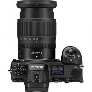 Nikon Z6 kit Nikkor Z 24-70mm f/4 S +adaptor Nikon FTZ, Aparat Foto Mirrorless Full Frame 24.5MP Video 4K  Wi-Fi5