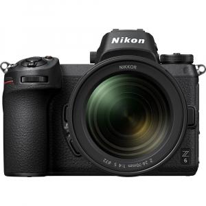 Nikon Z6 kit Nikkor Z 24-70mm f/4 S +adaptor Nikon FTZ, Aparat Foto Mirrorless Full Frame 24.5MP Video 4K  Wi-Fi2