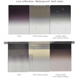 NiSi NANO REVERSE IR GND8 100x150mm - filtru neutru gradual 0.9 la 0.15 / 3 la 0.5 stopuri7