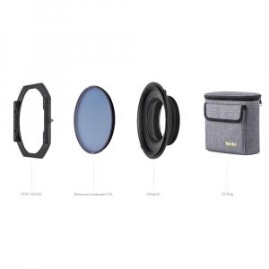NiSi S5 Kit 150mm holder + filtru Landscape NC CPL pentru Nikon 14-24mm f/2.80