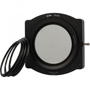NiSi V5-Pro 100mm system filter holder + kit filtru CPL 86mm + adaptoare 82,77,72,67mm0