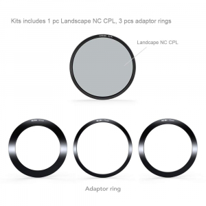 NiSi V5-Pro 100mm system filter holder + kit filtru NC Landscape CPL 86mm + adaptoare 82,77,72,67mm1