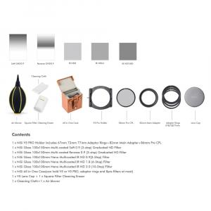 NiSi V5-Pro Advance Filter Kit II 100mm - kit filtre [1]