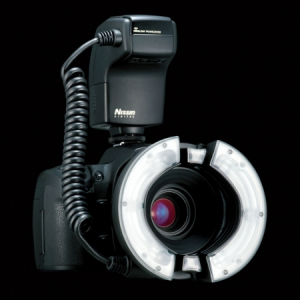 Nissin MF18 Ring Flash - blitz macro pentru Nikon0