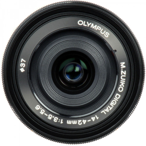 Olympus 14-42mm f/3.5-5.6 EZ ED MSC Black Pancake2