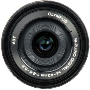 Olympus 14-42mm f/3.5-5.6 EZ ED MSC Black Pancake [2]
