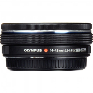 Olympus 14-42mm f/3.5-5.6 EZ ED MSC Black Pancake1