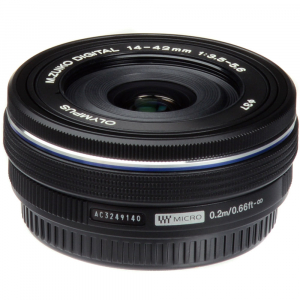 Olympus 14-42mm f/3.5-5.6 EZ ED MSC Black Pancake3