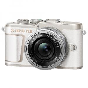 Olympus E-PL10 alb + EZ-M14-42 EZ Pancake argintiu2
