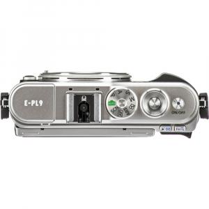 Olympus E-PL9 negru + EZ-M14-42 EZ Pancake argintiu [3]