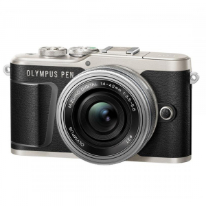 Olympus E-PL9 negru + EZ-M14-42 EZ Pancake argintiu [0]