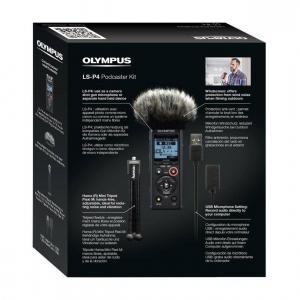 Olympus LS-P4 Video Kit -  reportofon Linear PCM Audio Recorder Videography Kit [3]