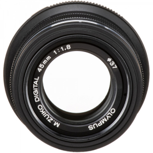 Olympus M.ZUIKO 45mm f/1.8 MSC , black3