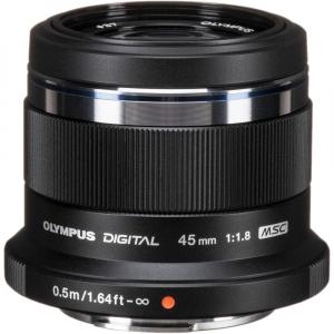 Olympus M.ZUIKO 45mm f/1.8 MSC , black0