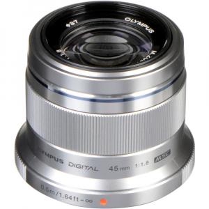 Olympus M.ZUIKO 45mm f/1.8 MSC , silver [1]