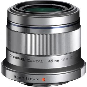 Olympus M.ZUIKO 45mm f/1.8 MSC , silver [0]