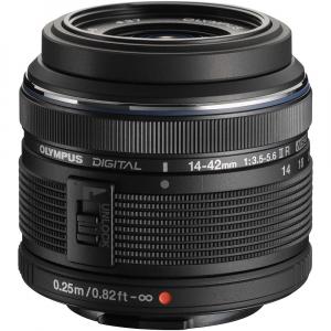 Olympus M.Zuiko Digital ED 14-42 mm f/3.5-5.6 ll R negru (bulk)1