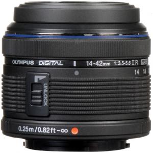 Olympus M.Zuiko Digital ED 14-42 mm f/3.5-5.6 ll R negru (bulk)2