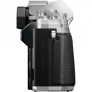 Olympus OM-D E-M10 Mark III Body argintiu [5]