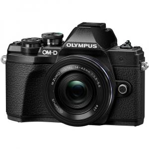 Olympus OM-D E-M10 Mark III kit cu 14-42mm EZ Pancake negru [0]