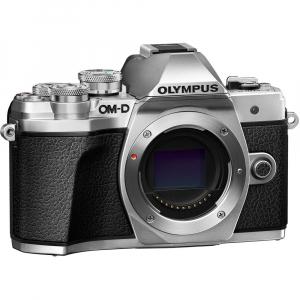 Olympus OM-D E-M10 Mark III kit cu 14-42mm II R argintiu7