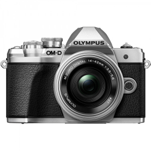 Olympus OM-D E-M10 Mark III kit Olympus 14-42mm EZ Pancake argintiu [2]