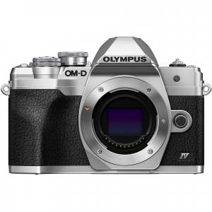 Olympus OM-D E-M10 Mark IV Silver Kit cu 14-42mm F3.5-5.6 EZ silver1