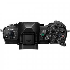 Olympus OM-D E-M10 Mark IV Mirrorless Black Kit cu M.Zuiko ED 14-42mm F3.5-5.6 EZ black + M.Zuiko ED 40-150mm F4.0-5.6 R black [4]