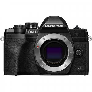 Olympus OM-D E-M10 Mark IV Aparat Foto Mirrorless 20.3MP Black Kit cu Obiectiv M.Zuiko Digital ED 14-42mm F3.5-5.6 EZ black [1]