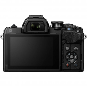 Olympus OM-D E-M10 Mark IV Mirrorless Black Kit cu M.Zuiko ED 14-42mm F3.5-5.6 EZ black + M.Zuiko ED 40-150mm F4.0-5.6 R black [5]