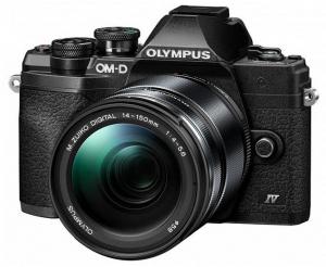 Olympus OM-D E-M10 Mark IV Aparat Mirrorless Black Kit cu M.Zuiko Digital 14-150mm F4.0-5.6 II black [0]