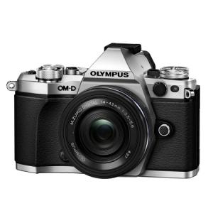 Olympus OM-D E-M5 Mark II argintiu + 14-42 EZ pancake negru1