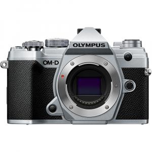 Olympus OM-D E-M5 Mark III body - argintiu  kit cu M.Zuiko 25mm f/1.8 si cu ECG-5 Grip Extern [1]