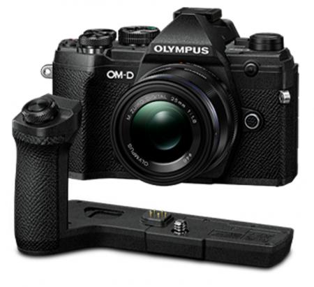 Olympus OM-D E-M5 Mark III body - negru kit cu M.Zuiko 25mm f/1.8 si cu ECG-5 Grip Extern [0]