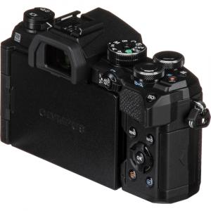 Olympus OM-D E-M5 Mark III body - negru kit cu M.Zuiko 25mm f/1.8 si cu ECG-5 Grip Extern [2]