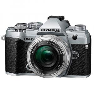 Olympus OM-D E-M5 Mark III kit Olympus 14-42mm f/3.5-5.6 EZ ED MSC Pancake - argintiu0
