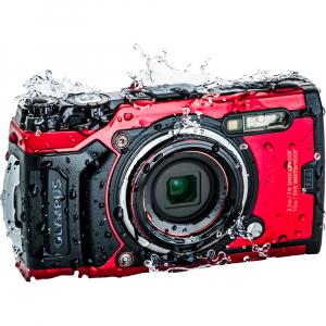 Olympus TG-6 rosu - aparat foto compact subacvatic1