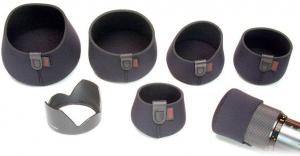 """OP/TECH 8001262 3"""" Mini Hood Hat - Black 5"""