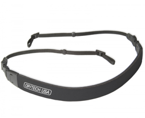 "OP/TECH  Fashion Strap™ - 3/8""  Black - Curea de umar0"