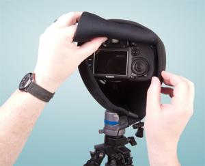 OP/TECH Mega Shoot Cover™ MSC3 -Black [5]