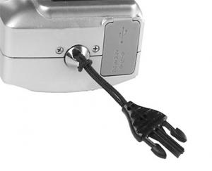 OP/TECH  Mini Loop Strap™ - QD Black - Curea de umar aparat compact2