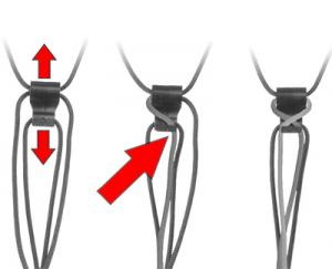 OP/TECH  Mini Loop Strap™ - QD Black - Curea de umar aparat compact1