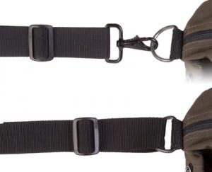 OP/TECH Mini S.O.S. Strap™  Black -  Curea de umar pentru geanta/trepied1