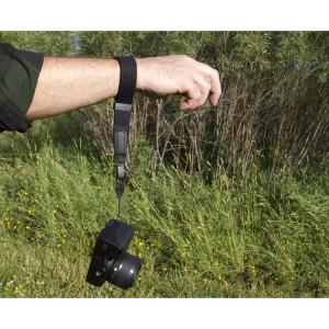 OP/TECH Mirrorless Wrist Strap Black - Curea de mana2