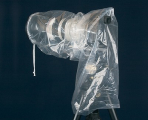 "OP/TECH Rainsleeve™ mega 25""  - set 2 huse ploaie aparat SLR [2]"