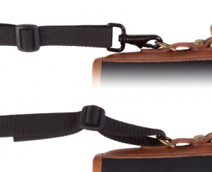 OP/TECH S.O.S. Strap™ Curved Black -  Curea de umar pentru geanta/trepied [2]