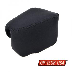OP/TECH Soft Pouch™ - Body Cover Midsize Black- husa neopren neagra0