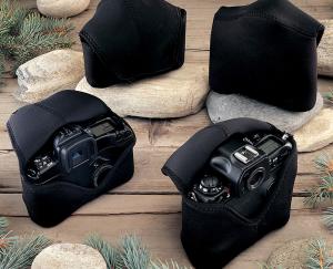 OP/TECH Soft Pouch™ - Body Cover Midsize Black- husa neopren neagra8