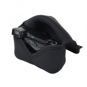 OP/TECH Soft Pouch™ - Body Cover Midsize Black- husa neopren neagra4